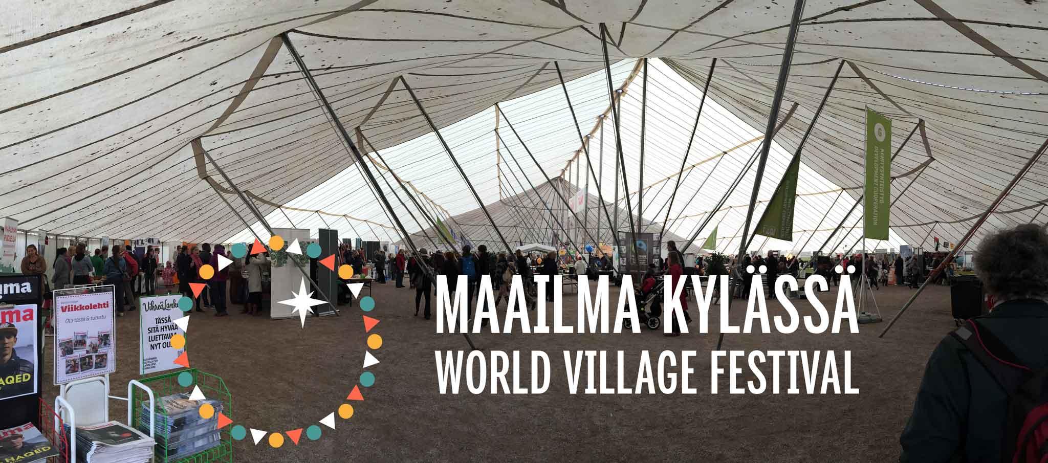 Maailma kylässä – festivaali järjestetään tänä keväänä 28.–29.5.2016