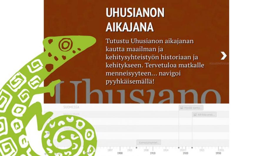 Uudelleen julkaistu Uhusianon aikajana!