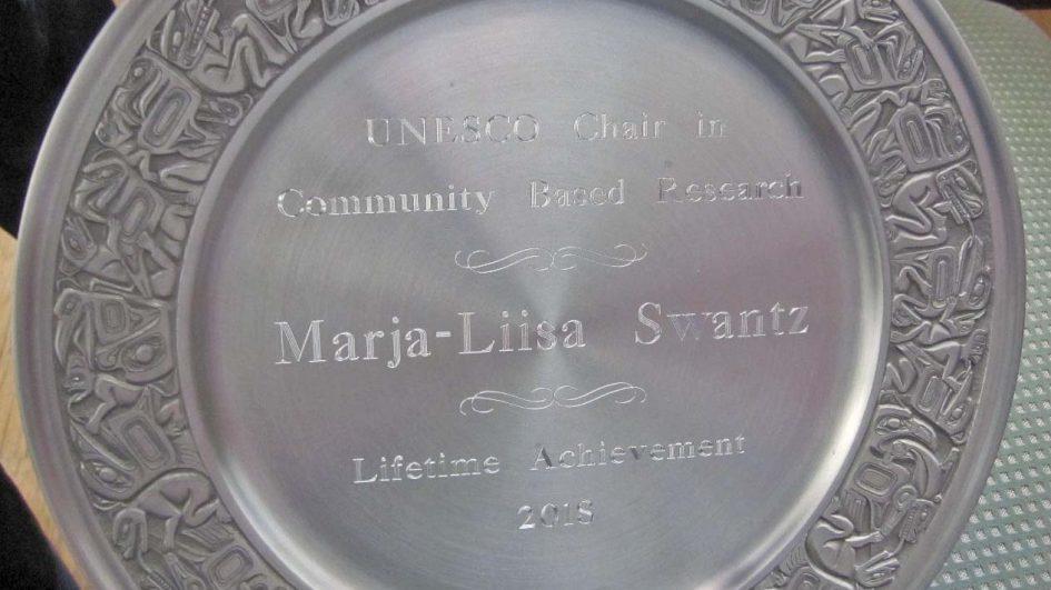 Marja-Liisa Swantz – UNESCO palkitsi elämäntyöstä 2018
